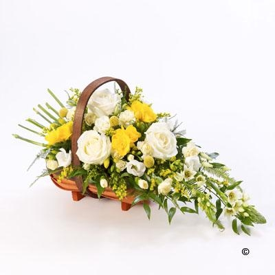 Mixed Basket   Yellow and White