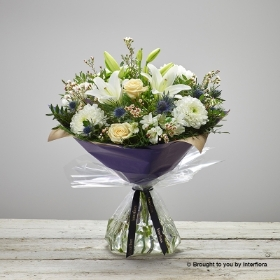 Twinkling Whites Hand tied