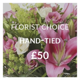 Florist Choice Hand tied 50