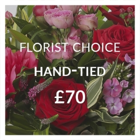 Florist Choice Hand tied 70